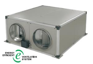 Recuperador de calor con intercambiador de flujo cruzado serie MU-RECO SN