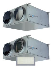 Recuperadores de calor configurables serie MU-RECO-LC